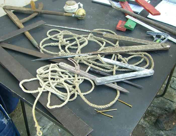 La corde à 13 noeuds, l'outil du Compagnon architecte